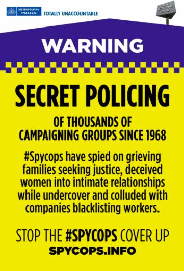Special Demonstration Squad established as part of Metropolitan Police Special Branch.