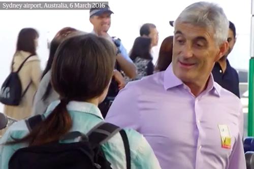 Helen Steel confronts Barker / Dines (HN5) in Australia.