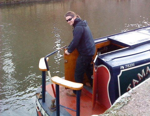 Mark Stone / Kennedy re-appears in Lisa's life without previous trappings; he has a canal boat instead of a house and a different phone.